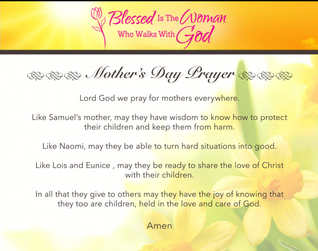 Prayer for Our Mothers