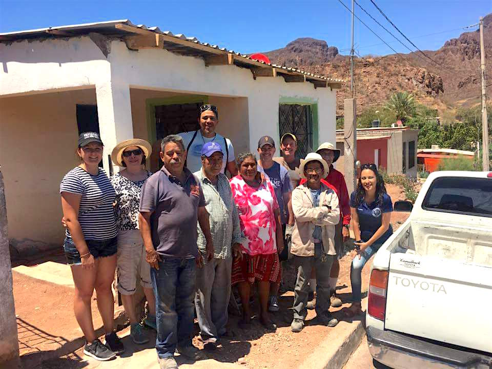Casa Franciscana Service Mission Group Photo in Guaymas, Mexico