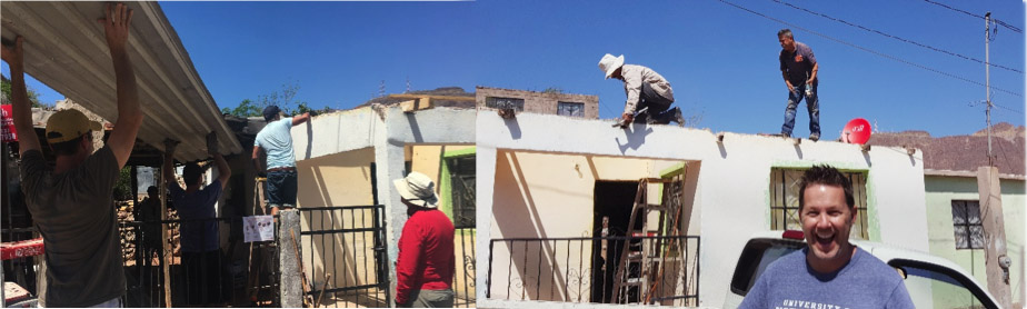 Casa Franciscana Service Mission Group in Action!