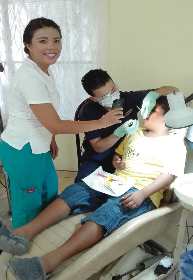 2,775 medical and dental visits