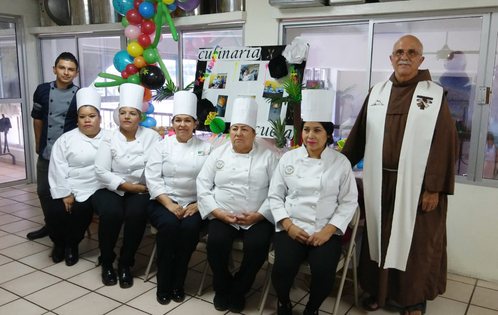 Employment opportunities for 15 adults after learning the trade of culinary arts in our Mission's Culinary School